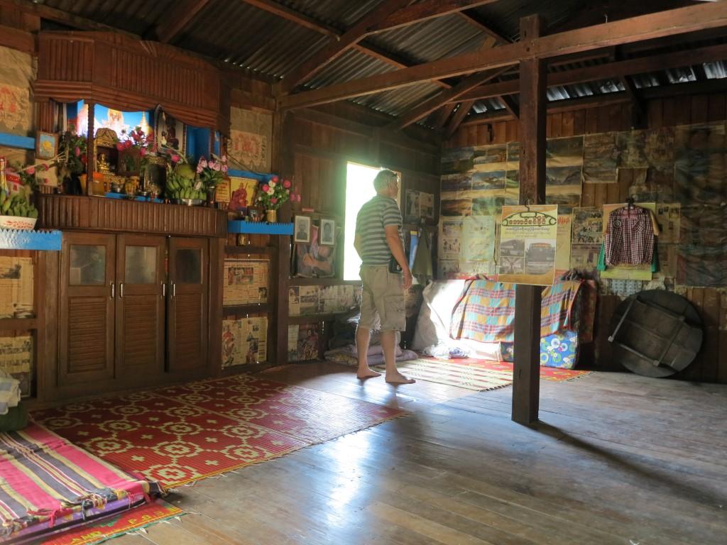 dům našich hostitelů Barma