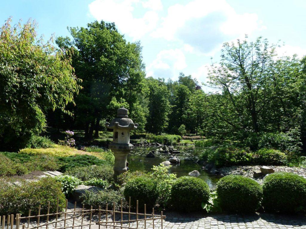 Japonská zahrada Wroclaw