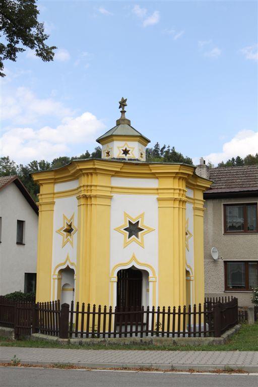 kaple sv. Jana  Nepomuckého Běstvina