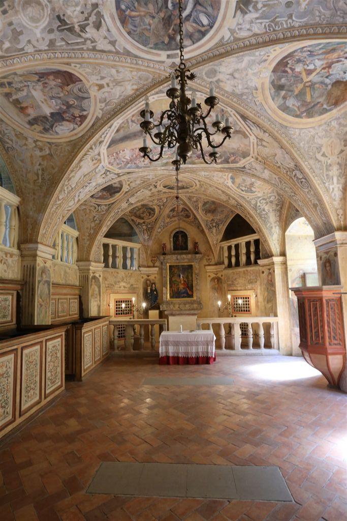 Grabštejn kaple sv. Barbory