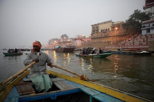 Ganga při svítání