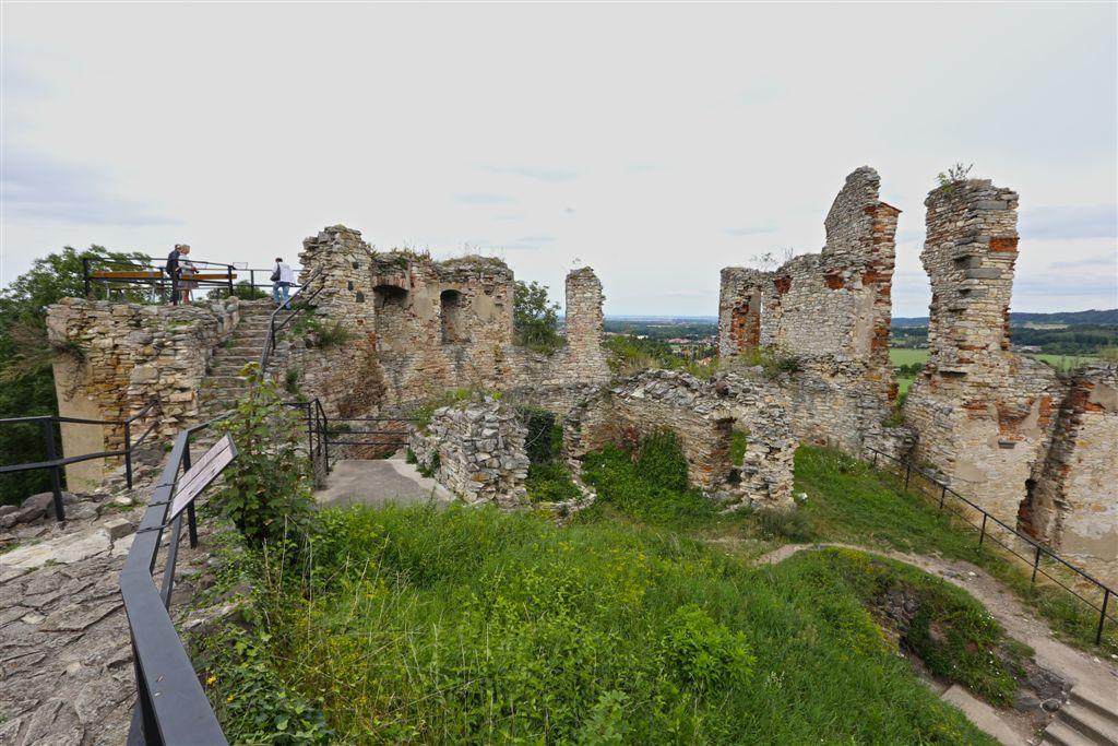 Hrad Košumberk v Luži