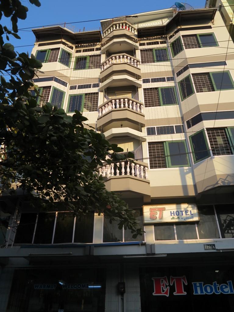 ET hotel Mandalay