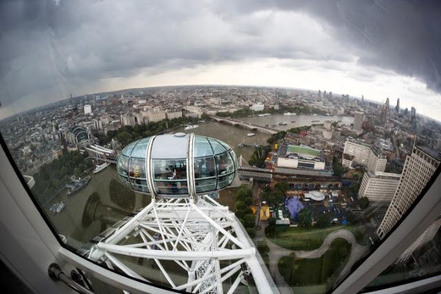 Londýn z London Eye