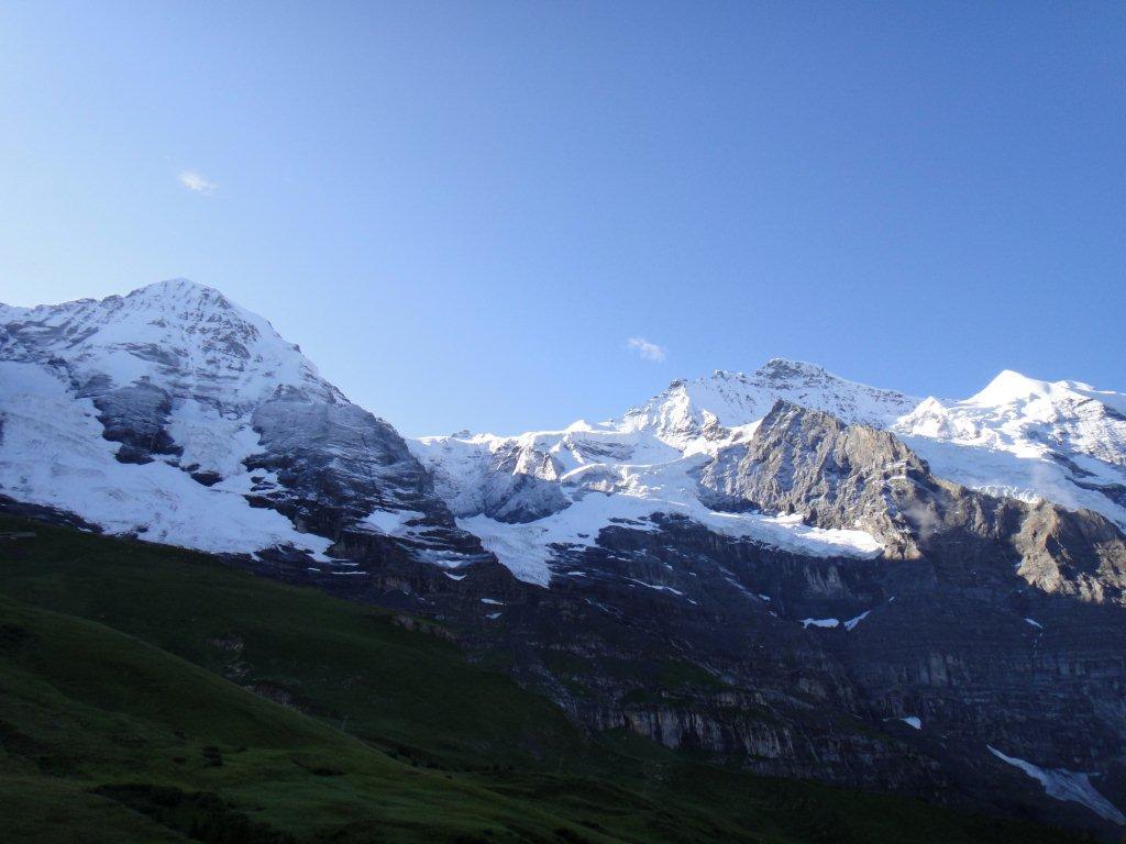 Jungfrau a Mönch