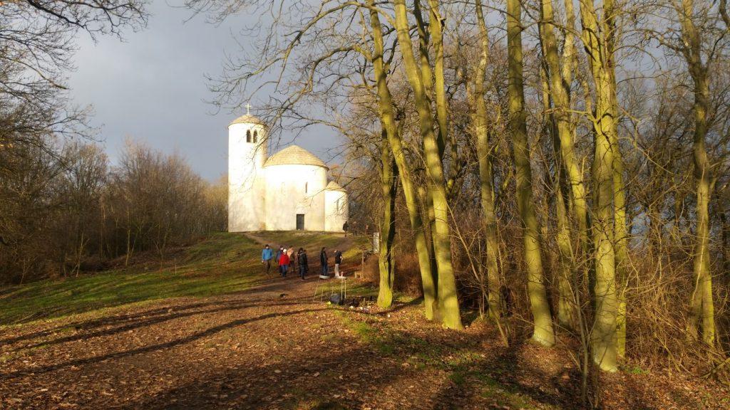 kostelík sv. Jiří - hora Říp