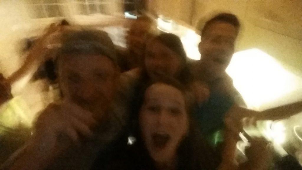 párty v Adelbodenu
