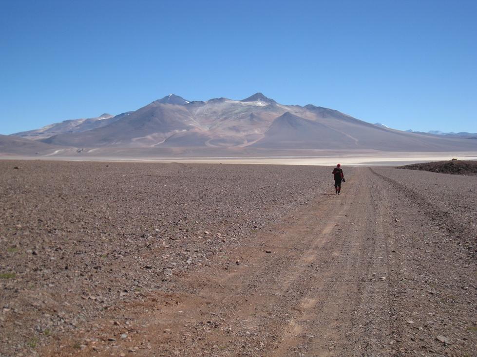 v poušti Atacama