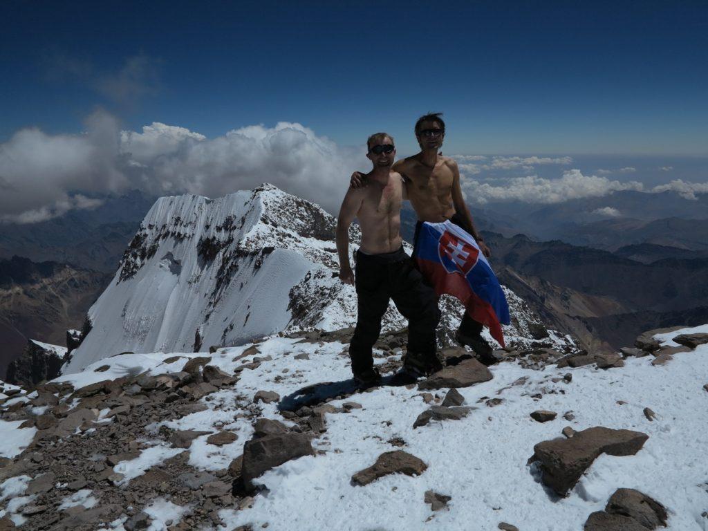 vrchol Aconcaqua