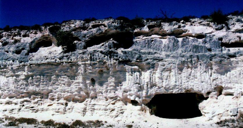 doly na vápenec Robben Island