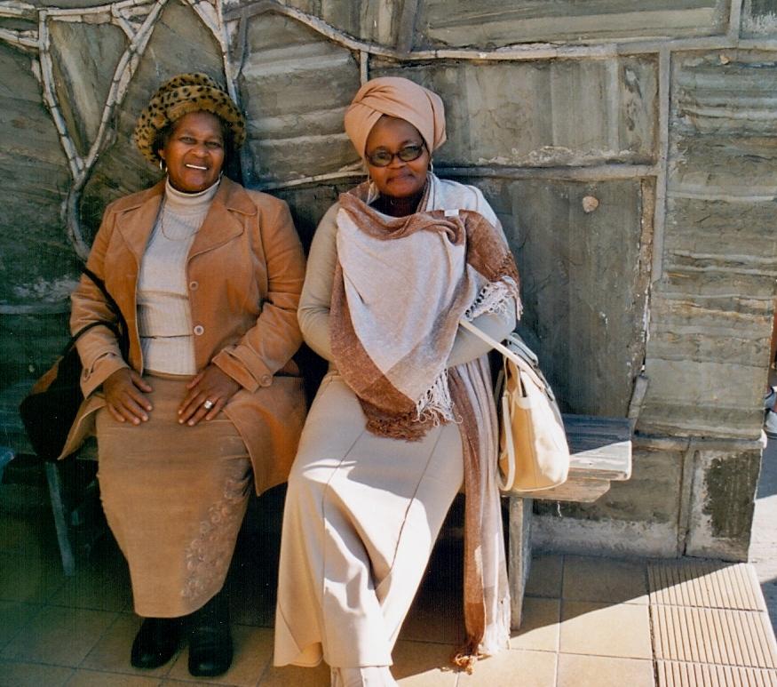 krásné Afričanky na Robben Island