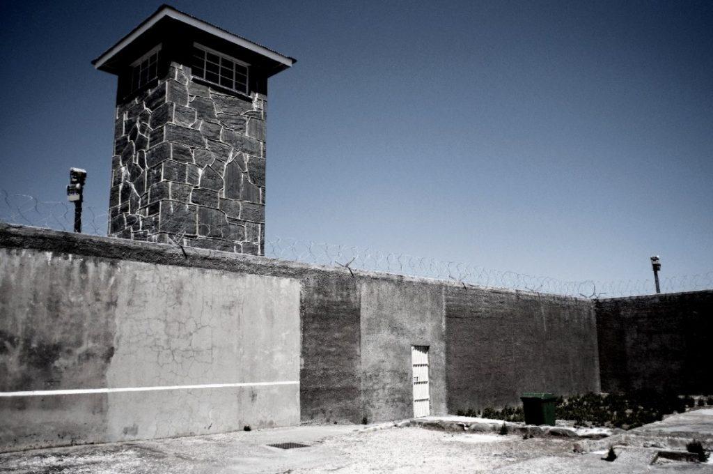 Robben Island vězen
