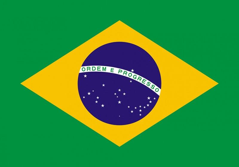 vlajka Brazílee