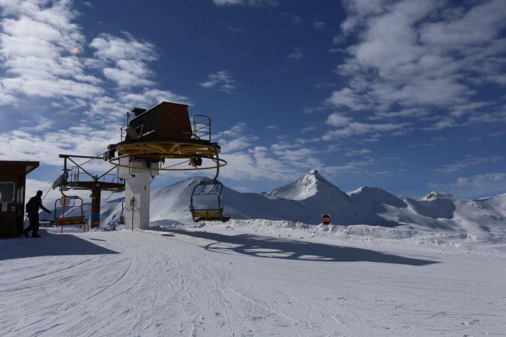 lyžařské středisko Livigno
