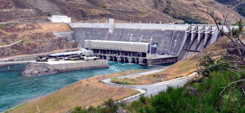Clyde dam přehrada