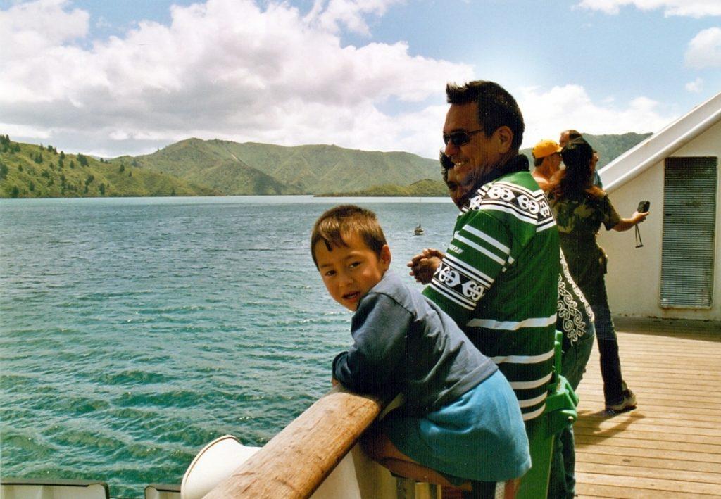 Maorové na trajektu