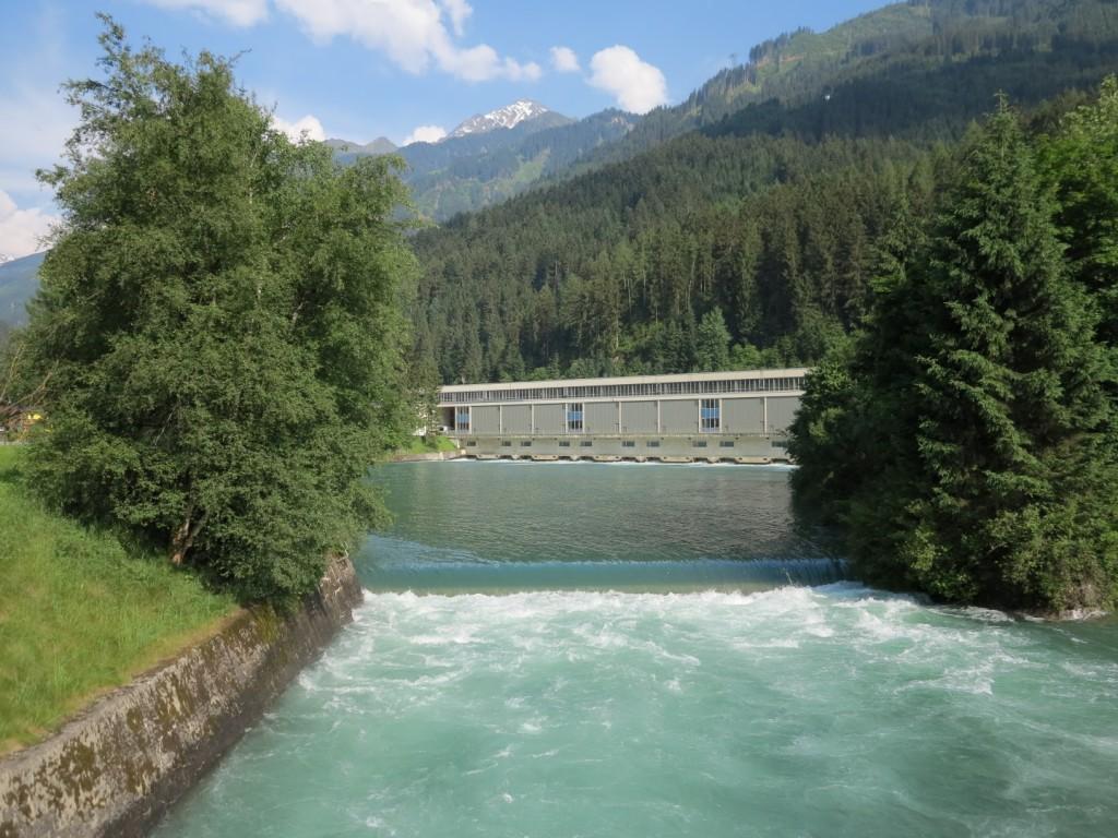Elektrárna Umspannwerk Mayrhofen