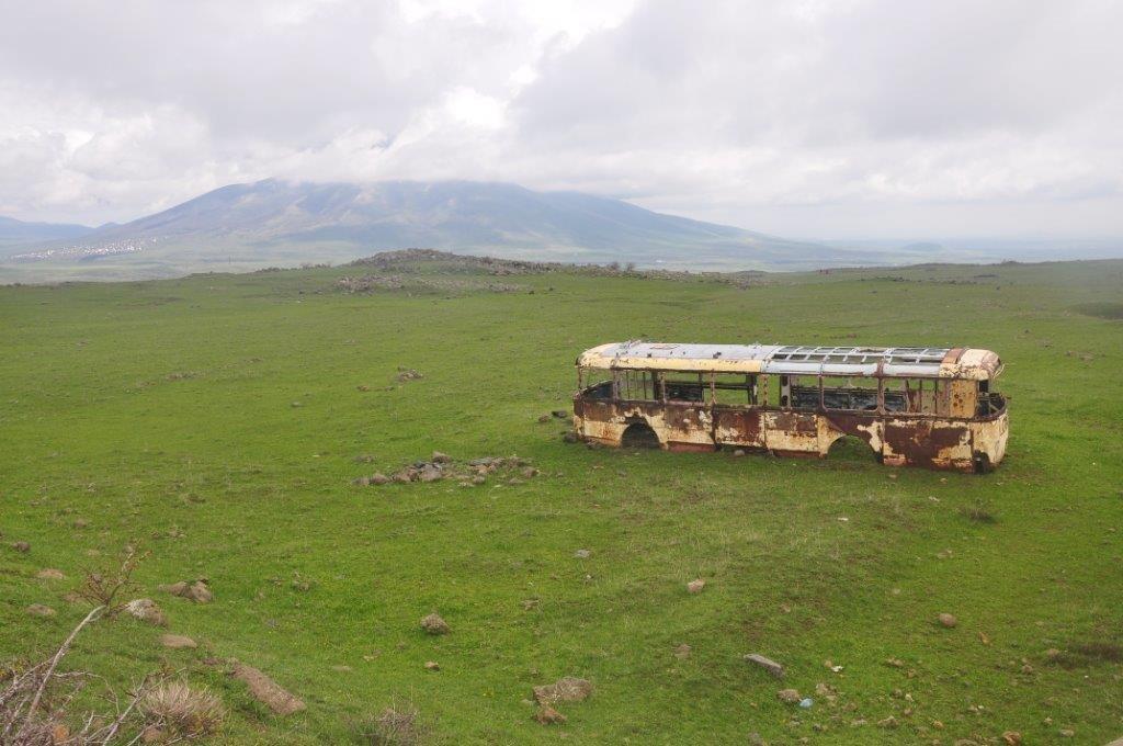 autobus po cestě