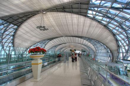 Suvarnabhumi - letiště Bangkok