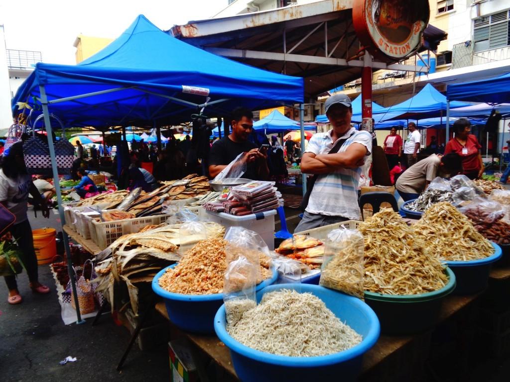 Gaya Street market - Kota Kinabalu