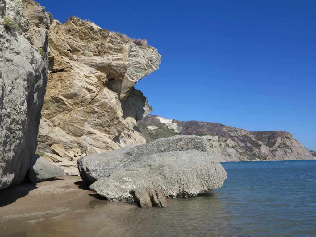 pobřeží z Kalamaki do Laganas