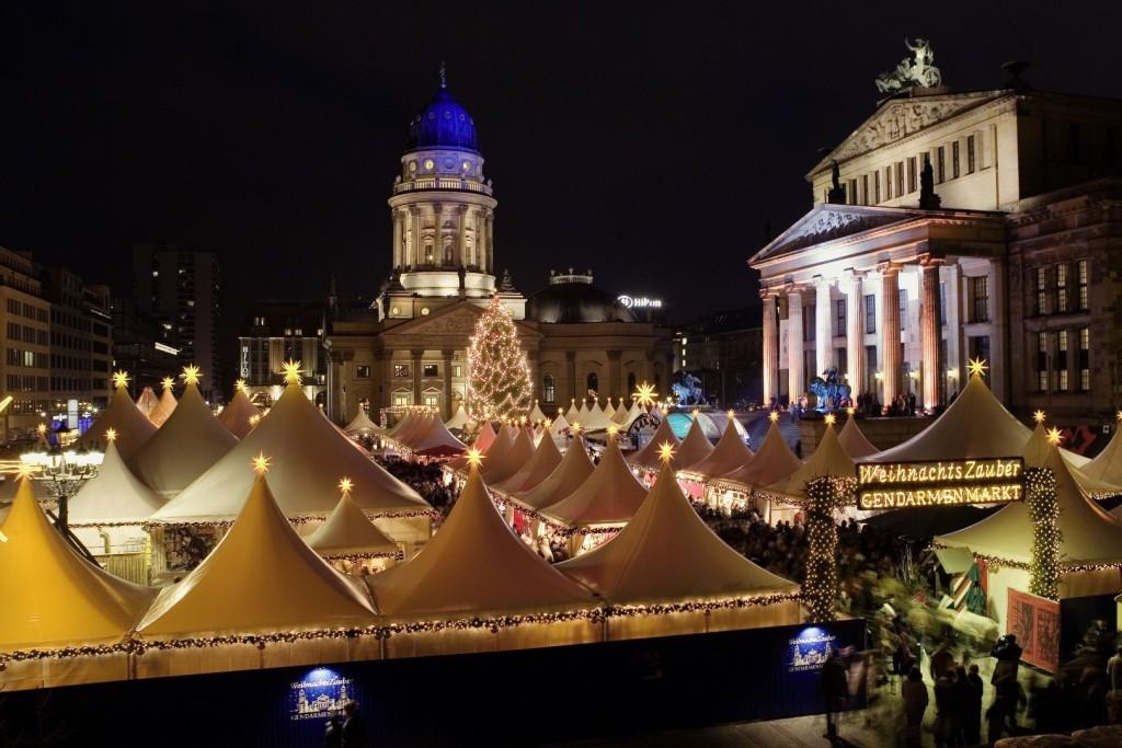Trhy na Gendarmenmarkt