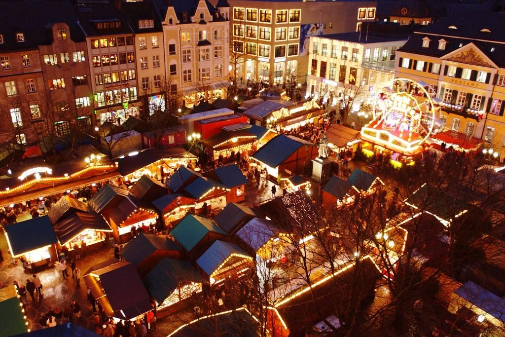 vánoční trhy Bonn