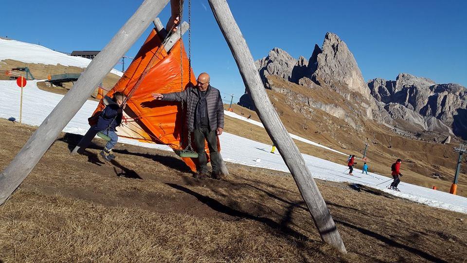 lyžařské středisko Seceda- Merano