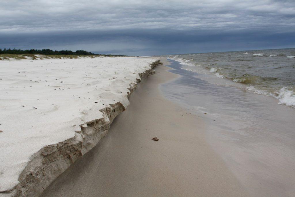 baltské pobřeží - písečné duny - Slowinský NP