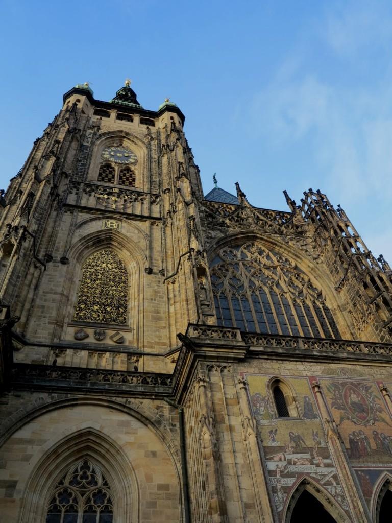 jižní věž - chrám sv. Víta
