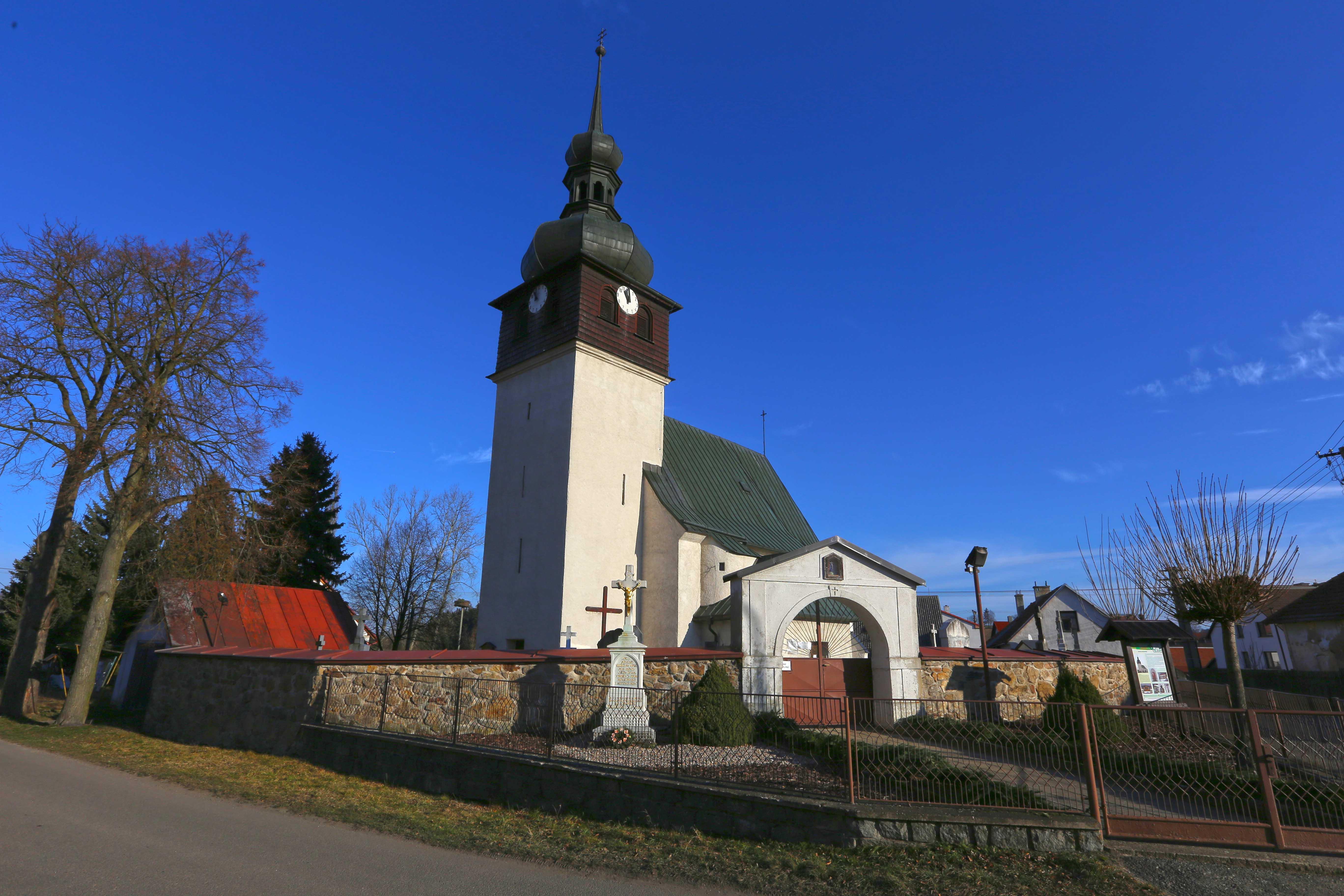 Kostel Sv. Bartoloměje Bobrůvka