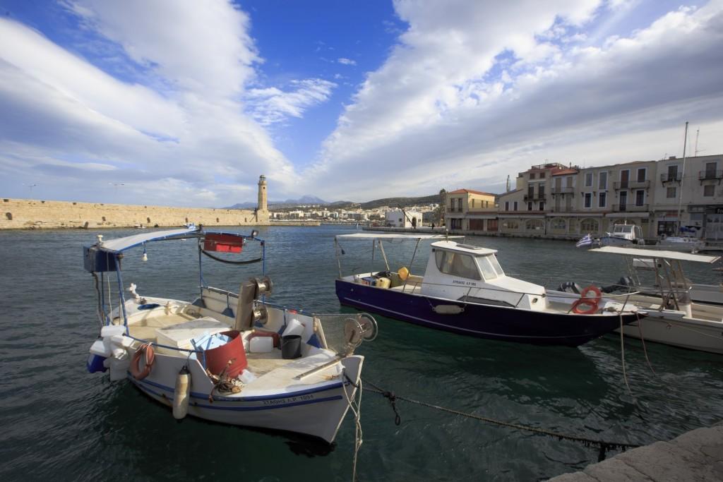 Benátský přístav Rethymno