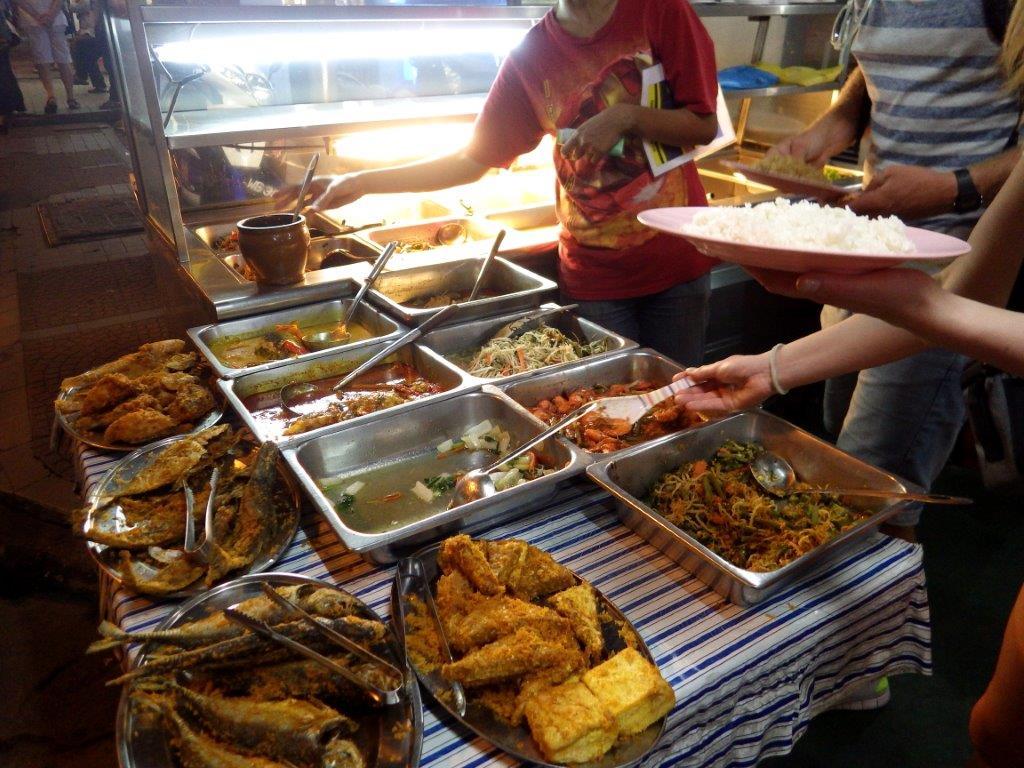 jídlo z ulice