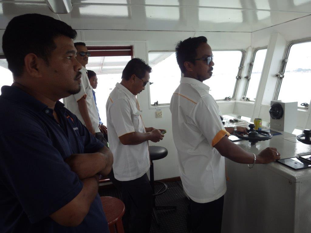 trajekt na Penang