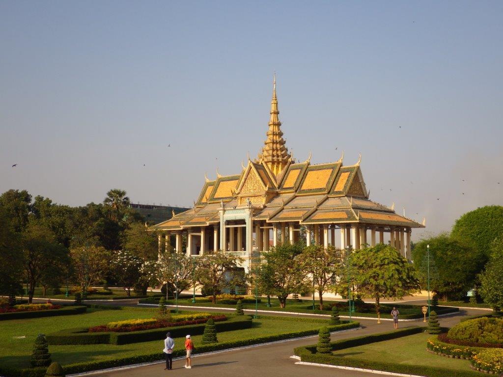Královský palác v Phnom Penh