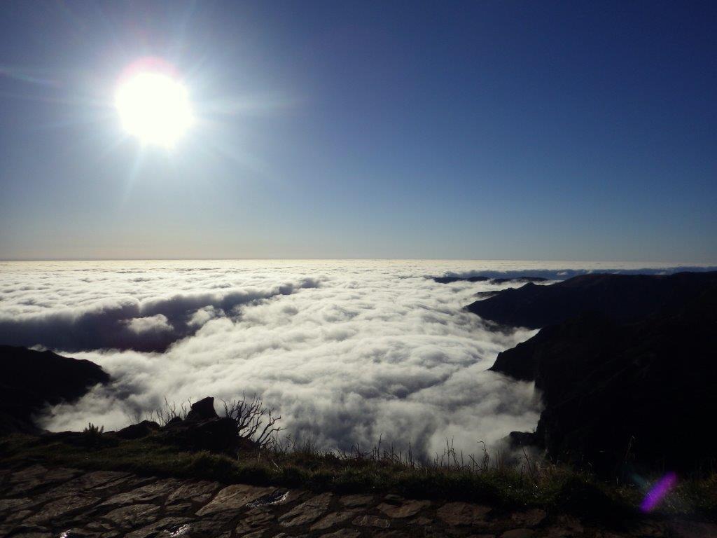 Výhledy po cestě na Pico Ruivo