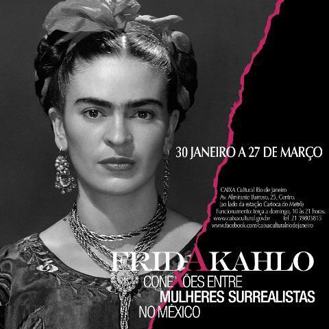 Výstava Frida Kahlo v Brazílii