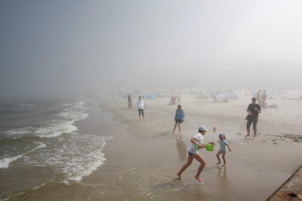 Mrzeżyno pláž