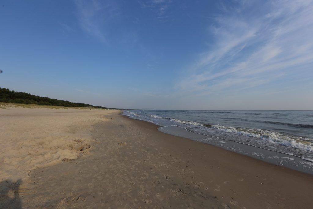 Zinnowitz pláž