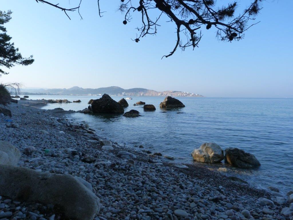 poslední plážička, kde sme se koupali