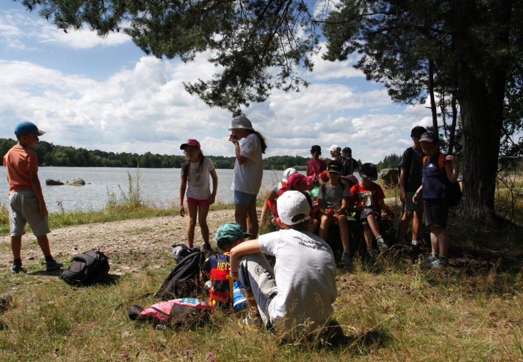 Rybník Velký Pálenec s táborem Vrbno (1)