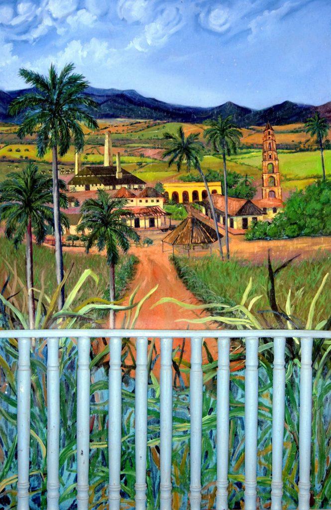 hacienda Manaca Iznaga obraz