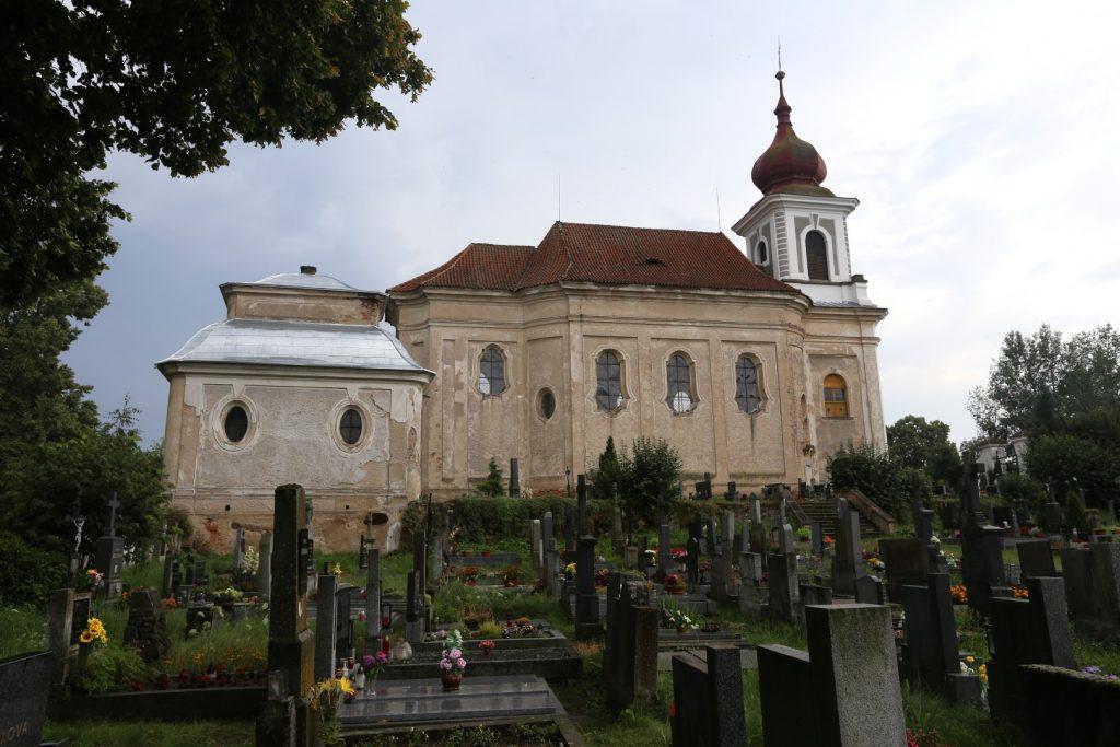 kostel sv. Jana Křtitele Paštiky
