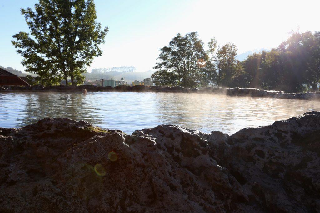 Kráter -travertinové jezírko Velké Ružbachy
