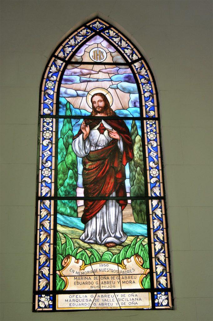 La Catedral de Santa Clara de Asís -  Okenni vitraze