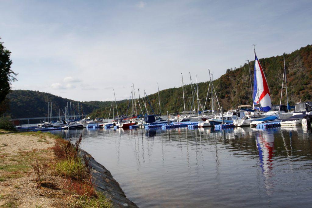 Stará Živohošť - přístaviště
