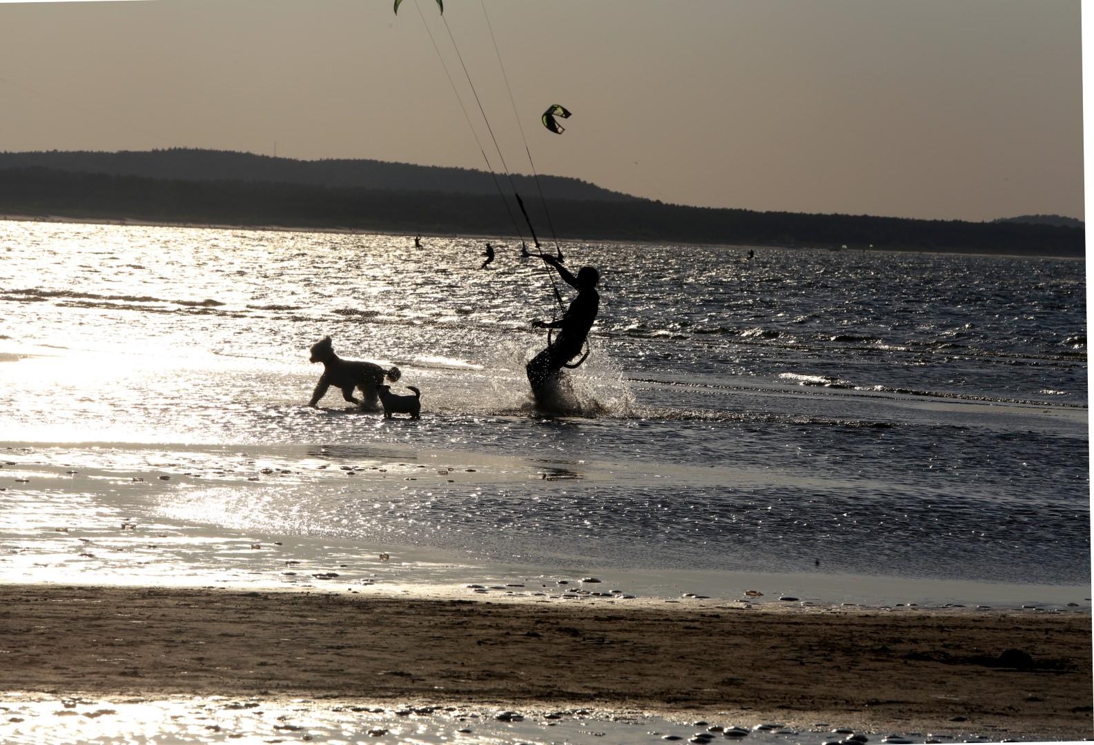 kiteboarding Świnoujście
