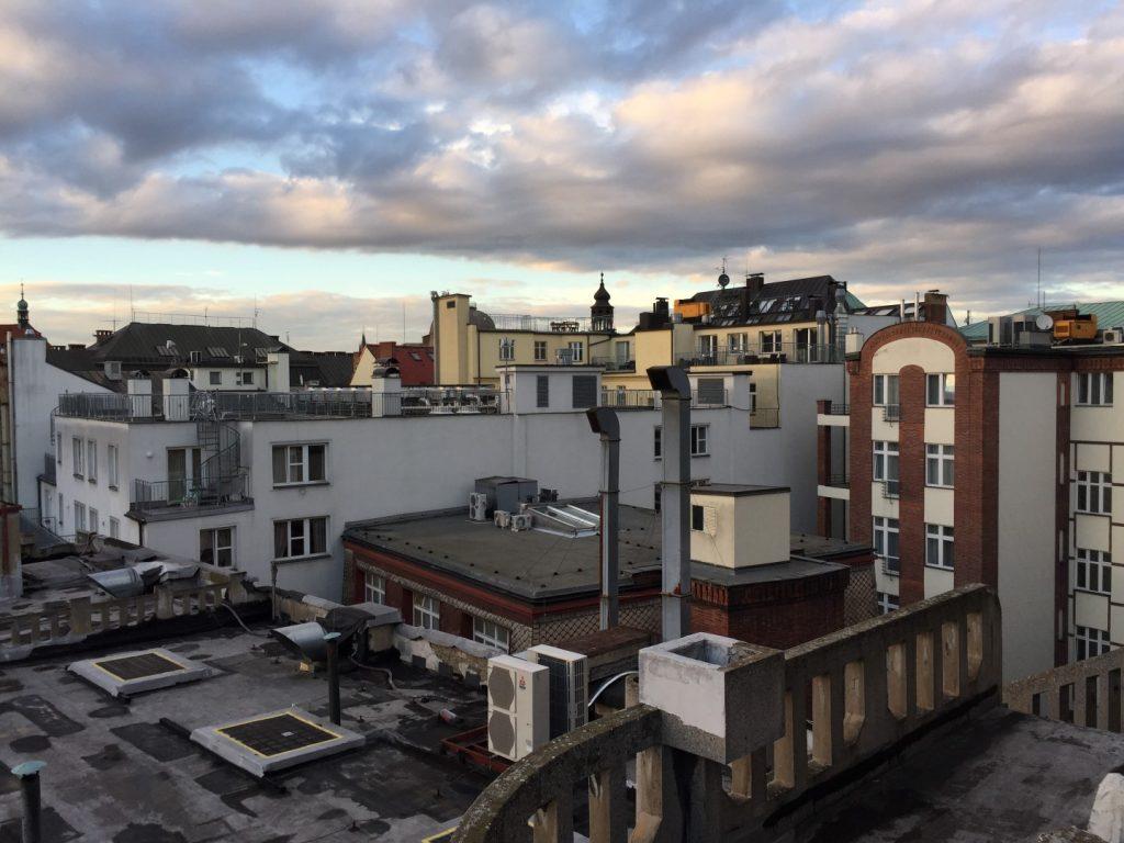 ze střechy paláce Lucerna