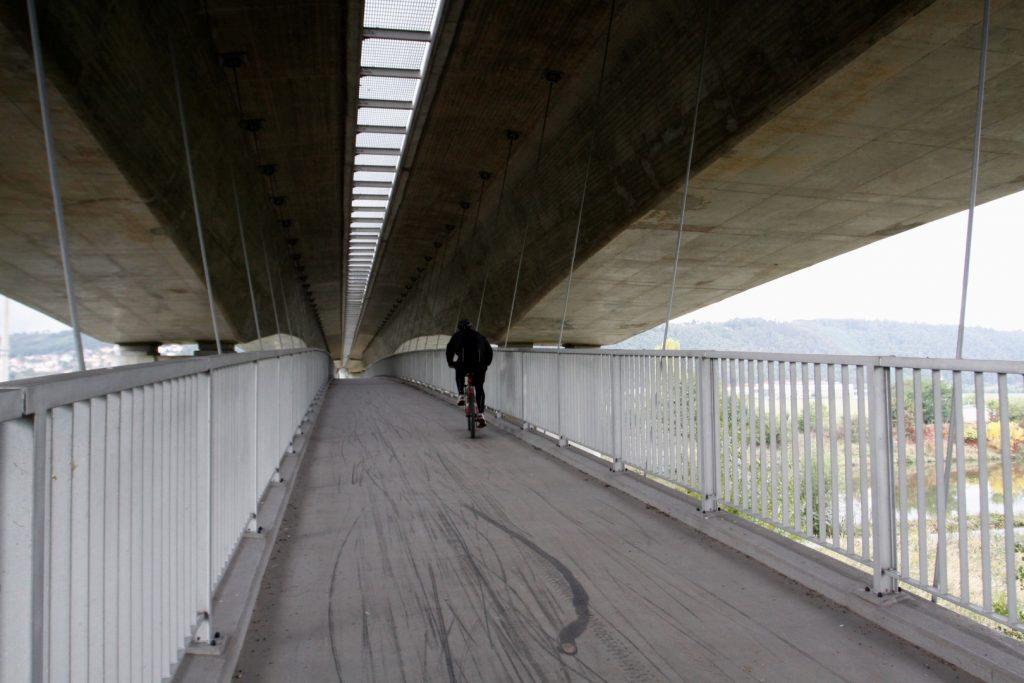 Lávka pro cyklisty Radotín
