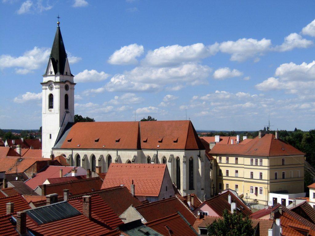 kostel blahoslavené Panny Marie Královny a sv. Jiljí